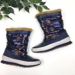 Keds Powder Puff Faux Fur Waterproof Winter Boots